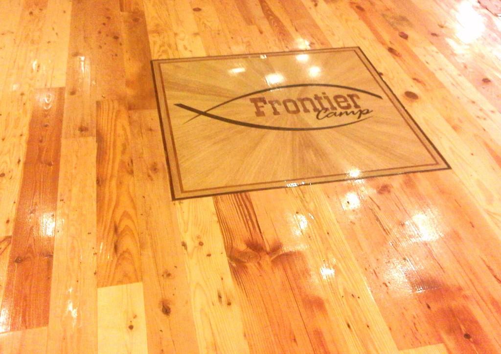 Frontier Camp Logo – Grapeland, Tx