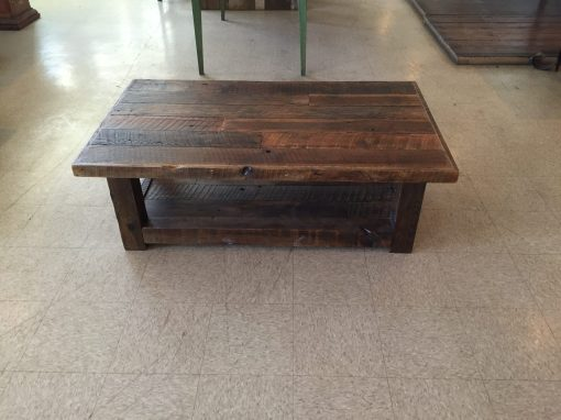 Spring top coffee table