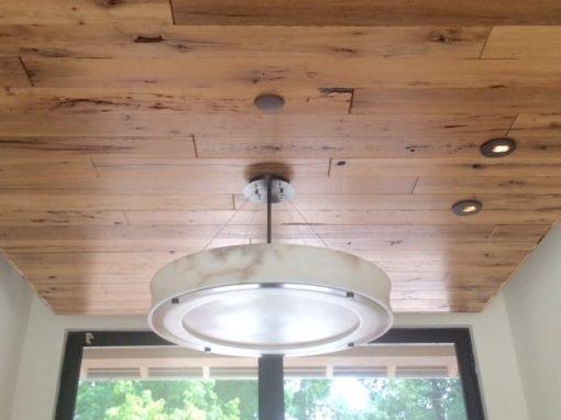 Rift quarter sawn oak ceiling-residential