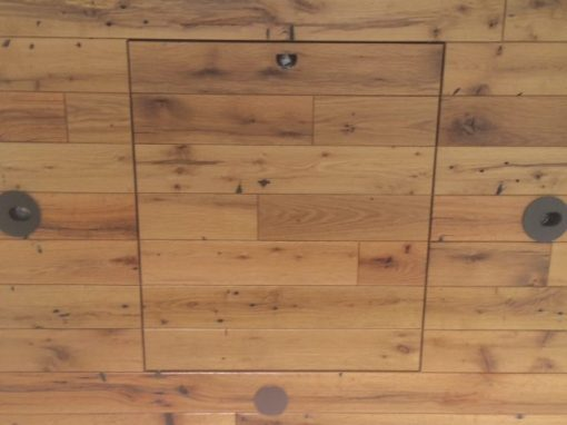Rift quarter sawn oak residential