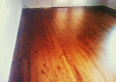 Reclaimed Oak – Installed