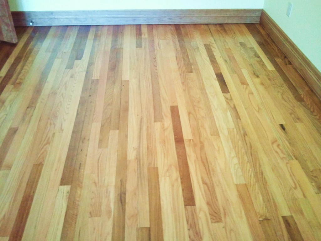 Oak Flooring – Bedroom