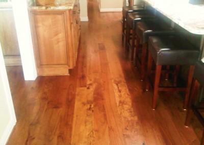 Pecan Bar floor