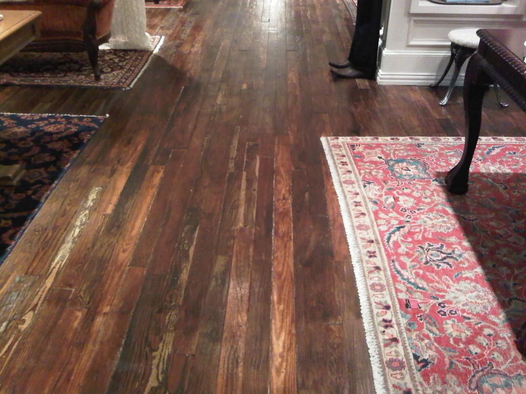 Antique Heart Pine Floor