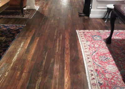 Antique Heart Pine Floor