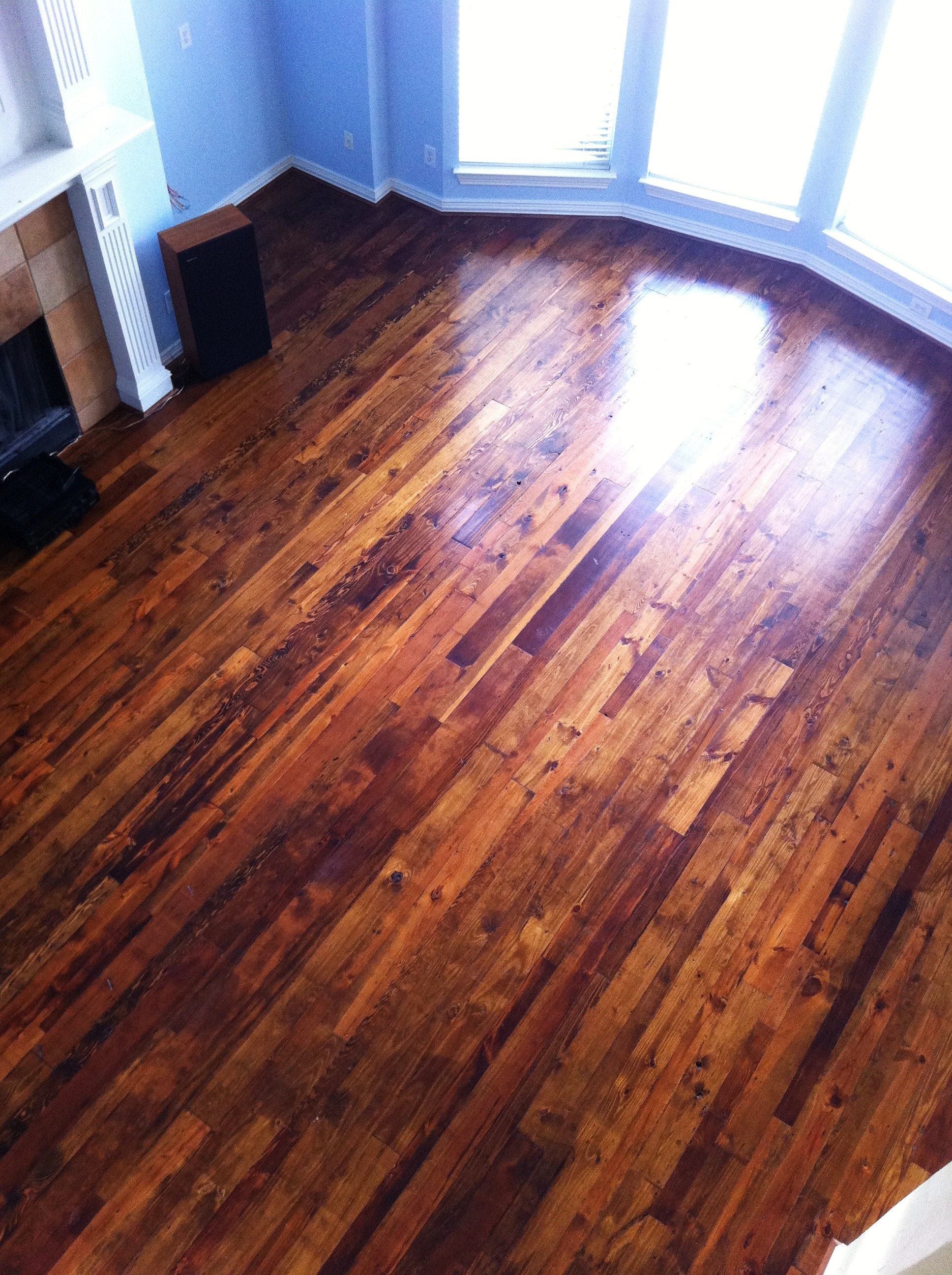 Antique Pine 3-5″ Chestnut Stain