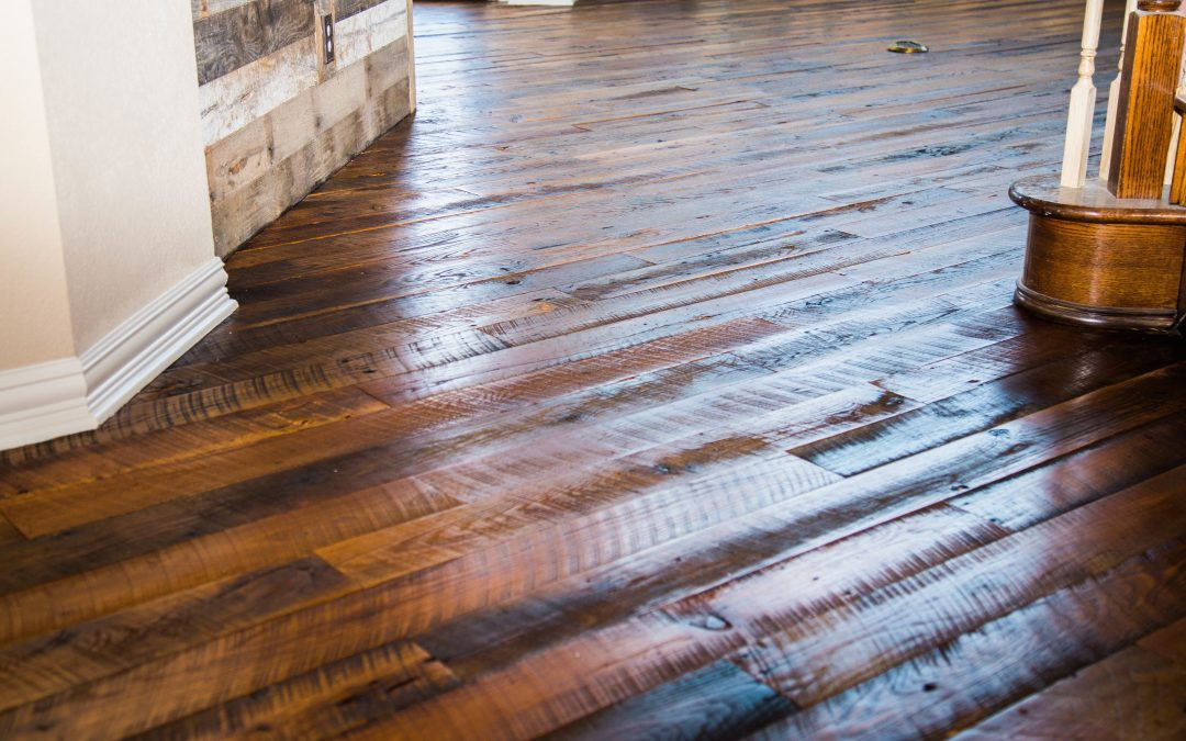 circle sawn oak floor