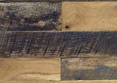 Various textures oak,3″-7″