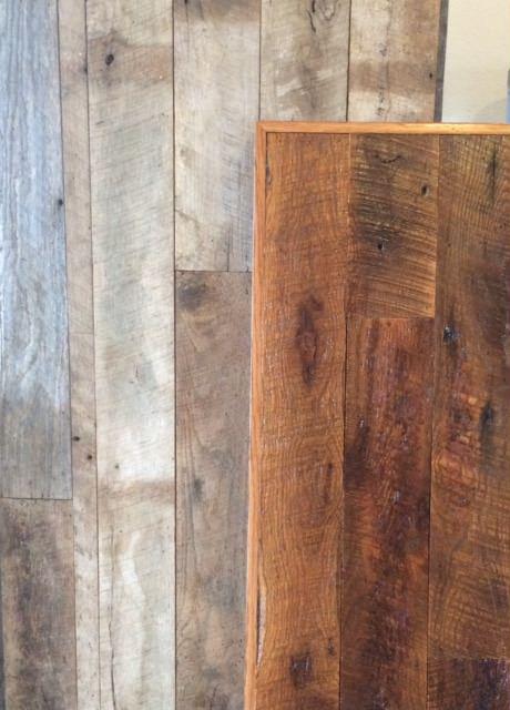 Oak dirty top, circle sawn