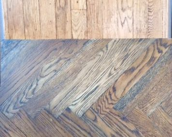 "Antique oak 2 1/4 "" x 3/4″ x3′-12′ 1930's-'60's"
